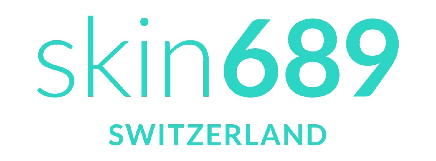 Das Logo des Schweizer Unternehmens skin689