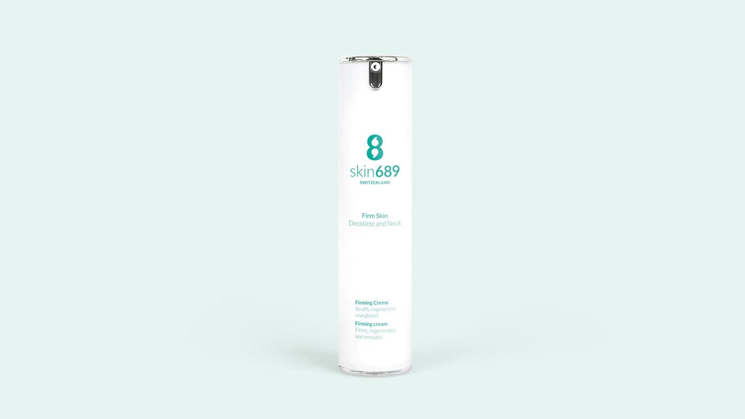 Produktbild der Die Firm Skin Decolleté and Neck Creme von skin689®